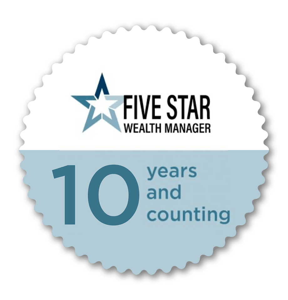 Five Star Wealth Manager Recognition 2020