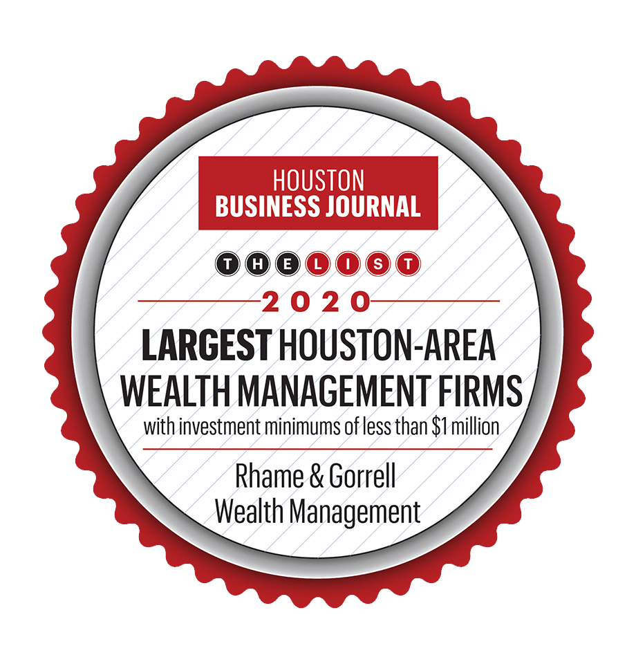 Houston Business Journal Recognition 2020